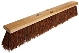 Weiler 42023 Palmyra Fiber Garage Brush with Wet Or Dry Sweeping, 2-1/2\