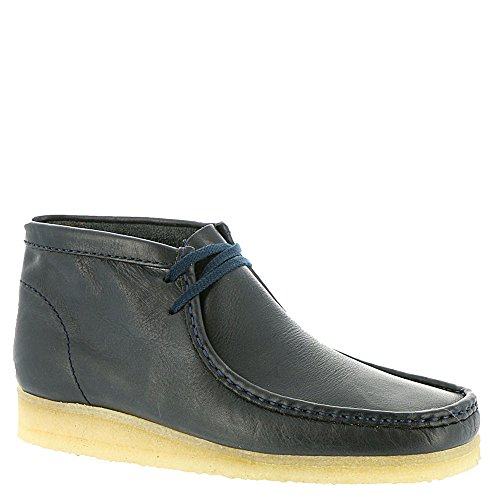 clarks-originals-mens-navy-wallabee-boot-9-dm-us