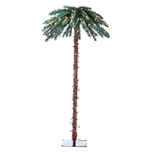 Sterling 5208-60C 6-Feet Pre-Lit Palm Tree Clear Lights