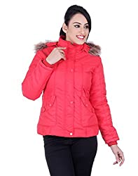 Montreal Women Jacket(Red,X-Large)
