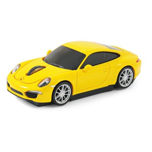 offiziell-lizenziertes-produkt-laser-computermaus-funk-maus-porsche-911-991-carrera-s-gelb