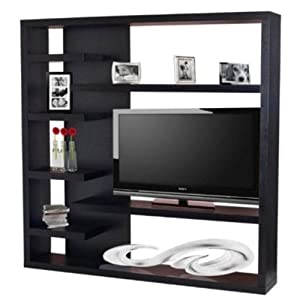 black wall unit tv stand storage unit kitchen home