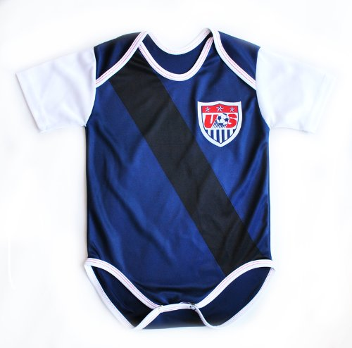 US Soccer Team AWAY Baby Suit 0-9 months