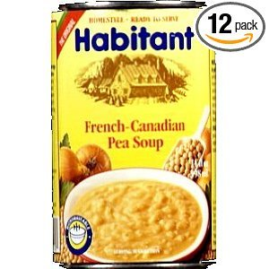 Habitant French Candian Pea Soup - 14 oz (12 pack)