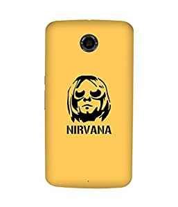 Nirvana Motorola Nexus 6 Case