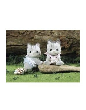 Buy Low Price International Playthings Calico Critters Fisher Cat Twins Figure (B0007CK2DQ)