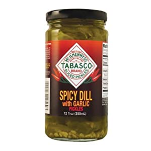 Tabasco Pickle Dill W Garlic Spicy 12 Oz Pack Of 12 by Tabasco