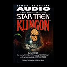 Star Trek: Klingon (Adapted) Audiobook by Hilary Bader Narrated by Michael Dorn, Robert O'Reilly