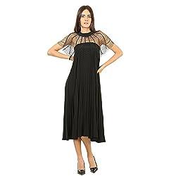 wowww Elegant Black Beaded Capelet