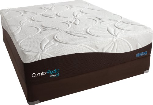 Review Of ComforPedic from Beautyrest Nourishing Comfort Plush Memory Foam Mattress Set, Full