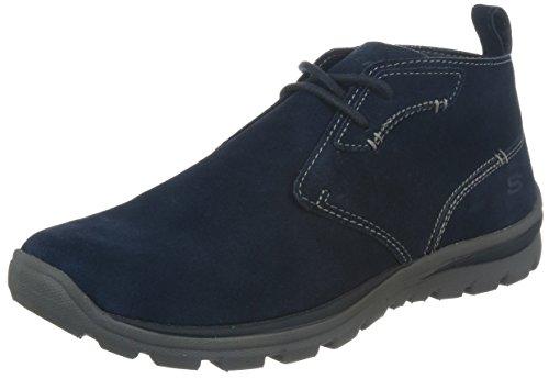 Skechers Superior - Up Word Chukka Boot Navy Size 14