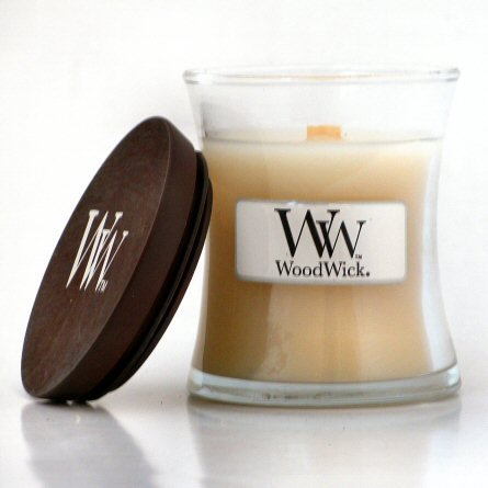 Woodwick Mini Vanilla Bean Candle 3.4oz