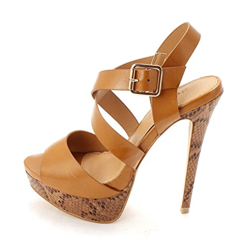 Peep Toe Casual Platform Sandals