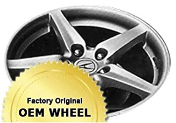 ACURA RSX 17X7 5 SPOKE Factory Oem Wheel Rim- HYPER SILVER – Remanufactured