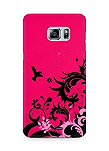 Amez designer printed 3d premium high quality back case cover for Samsung Galaxy S6 Edge Plus (Abstract Colorful 14)