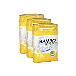 Bambo Nature Value Pack Midi Nappies (168 Nappies)