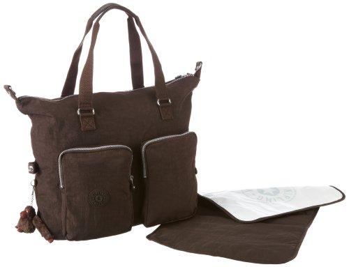 Kipling AILIS Shoulder Unisex-Adult Brown Braun (Expresso Brown 740) Size: 39x29x17 cm (B x H x T)