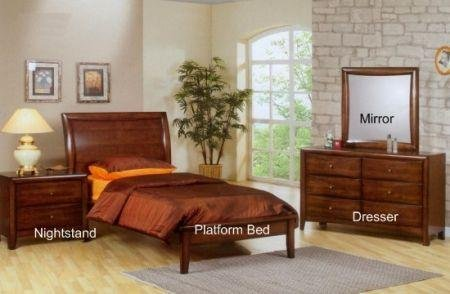 Cheap Sumner Kids Twin Platform Bedroom Set – Coaster 400281 (B005LWQ05Q)