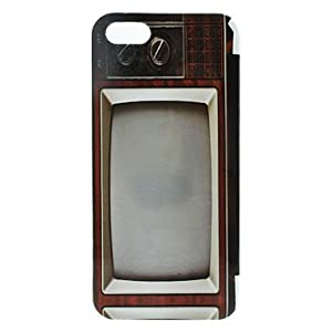Retro TV Pattern Hard Case for iPhone 5/5S