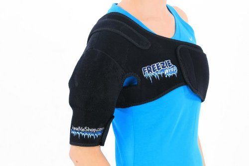 Shoulder Freezie Wrap, Left (L/xl - Over 150lbs) Relieve Pain and Inflammation From Rotator Cuff Injury, Frozen Shoulder