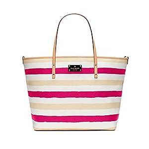 Kate Spade York Bondi Road Harmony Baby Diaper Tote Bag, Pink / Cream by Kate Spade York from Kate Spade New York