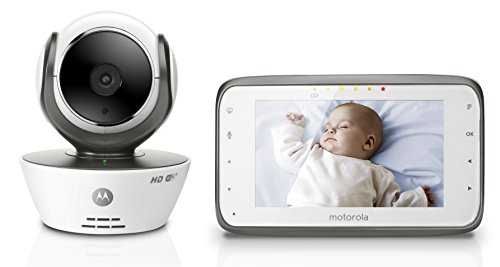 Great Deal! Motorola MBP854CONNECT Digital Video Baby Monitor with Wi-Fi Internet Viewing and 4.3 In...