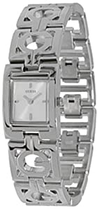 Guess Women's G-Link G Bracelet U85094L1 Silver Stainless-Steel Quartz Watch with Silver Dial
