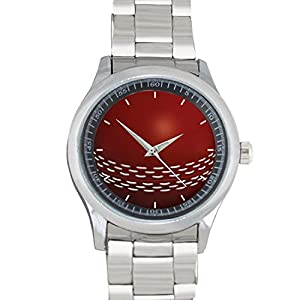 Cricket Ball FILGO098 Stainless Steel Wrist Watches