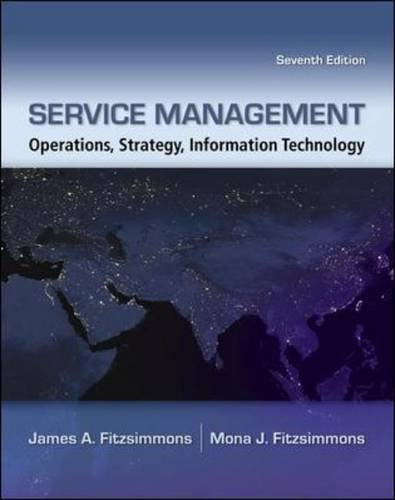 Service Management: Operations, Strategy, Information...