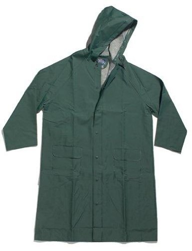 Dutch Harbor Gear Men's Long Coat, Green, Large (Dutch Harbor Rain Gear compare prices)