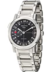 Best Price Zenith Port Royal V Dual Time Men's Automatic Watch 02-0451-682-21 Deals
