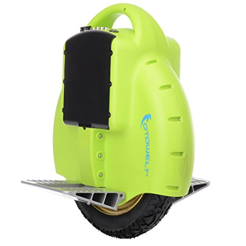 RedSun Chargeable One wheel Self Balancing Electric Unicycle Scooter X50 Green