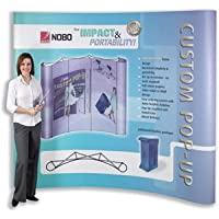 Rollup display panels for exhibitions