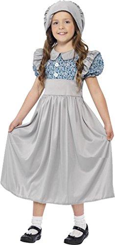 Victorian School Girl Costume Medium Age 7-9 (Victorian Girls Costume)