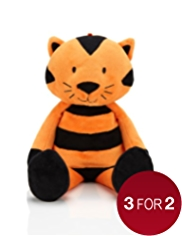 Stripe Terry Tiger Soft Toy