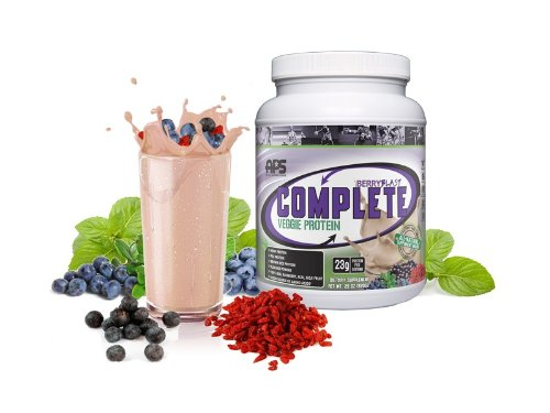 All Pro Science Complete Veggie Protein, Berry Blast, 29 oz.