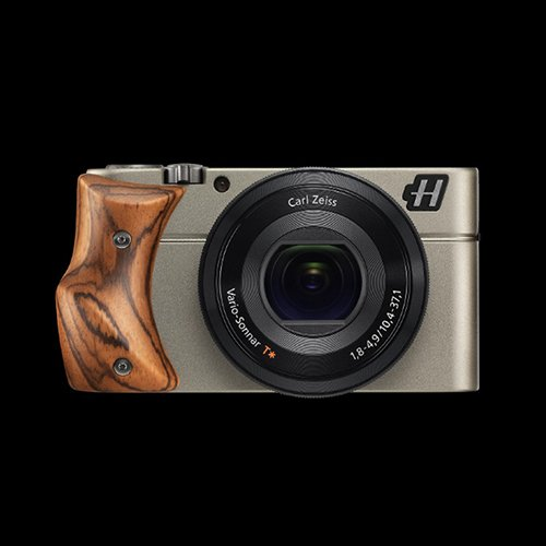 Hasselblad Stellar Camera-Silver /Zebra Wood Grip