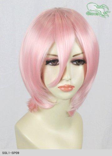スキップウィッグ 魅せる シャープ 小顔に特化したコスプレアレンジウィッグ マシュマロショート ベビーピンク