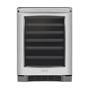 """Electrolux EI24WC65GS 24"""" Under-Counter Wine Cooler with Perfect Set® Temperature Control and Luxury-D, Stainless Steel"""