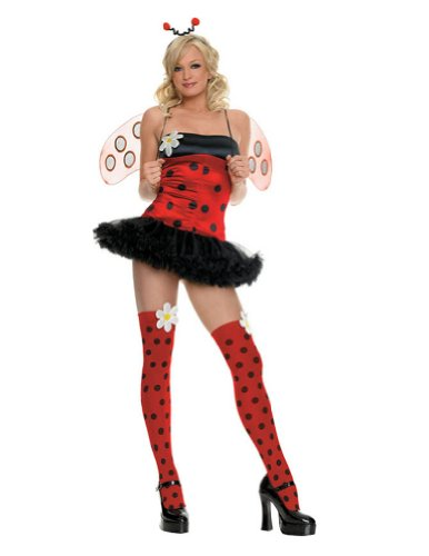 Adult-Costume Daisy Bug X Sm Halloween Costume - Adult Extra Small