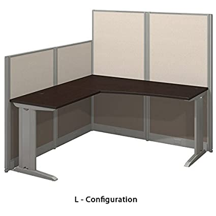 New Cubicles for Sale - L Shaped (Mocha Cherry)
