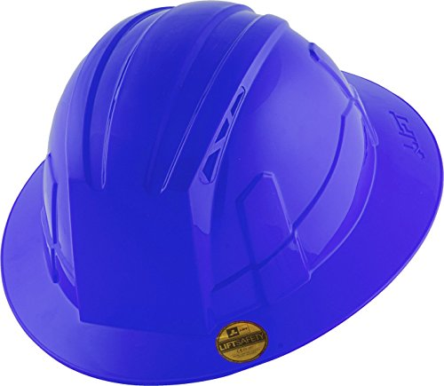 Lift Industrial Safety Gear HVF-1BE Vantis VS Hard Hat, Standard Brim, Type 1 Class E, Large, Blue (Adjustable Hard Hat Insert compare prices)