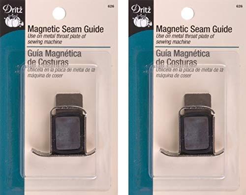 Dritz 626 Seam Guide, Magnetic (2 Pack) (Tamaño: 2 Pack)