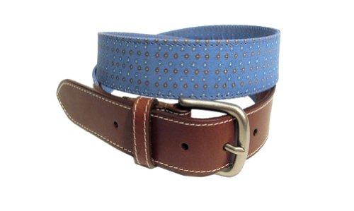 Venture Belt Men'S The Clubhouse-34-Blue front-30352