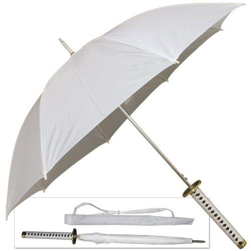 Japanese Anime Sword Handle Umbrella Katana White Katana Rain