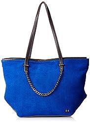 Halston Heritage Tote Handbag, Cobalt Multi, One Size