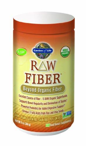 Garden of Life RAW Organic Fiber, 268g Powder