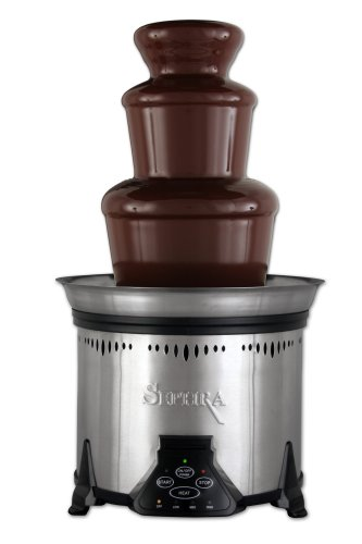 Learn More About Sephra CF18M-SST Elite 6-lb Capacity Chocolate Fountain, Stainless Steel