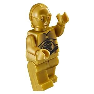 LEGO Star Wars Minifigur - C-3PO Gold Diese Figur ist nicht verklebt!