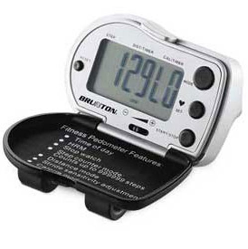 OCHR2G Brunton Pedometer with Heart Rate Monitor